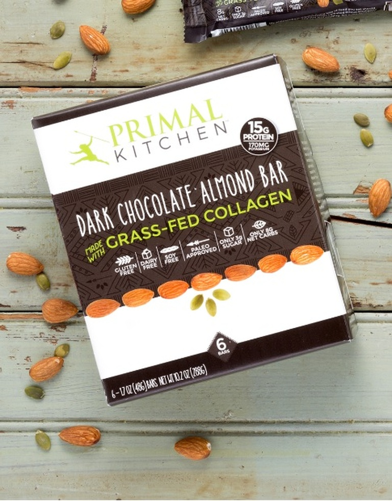 primal kitchen chocolate almond bars. zoneperfect nutrition snack